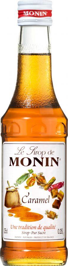 Monin Caramel smaksirap 250 ml
