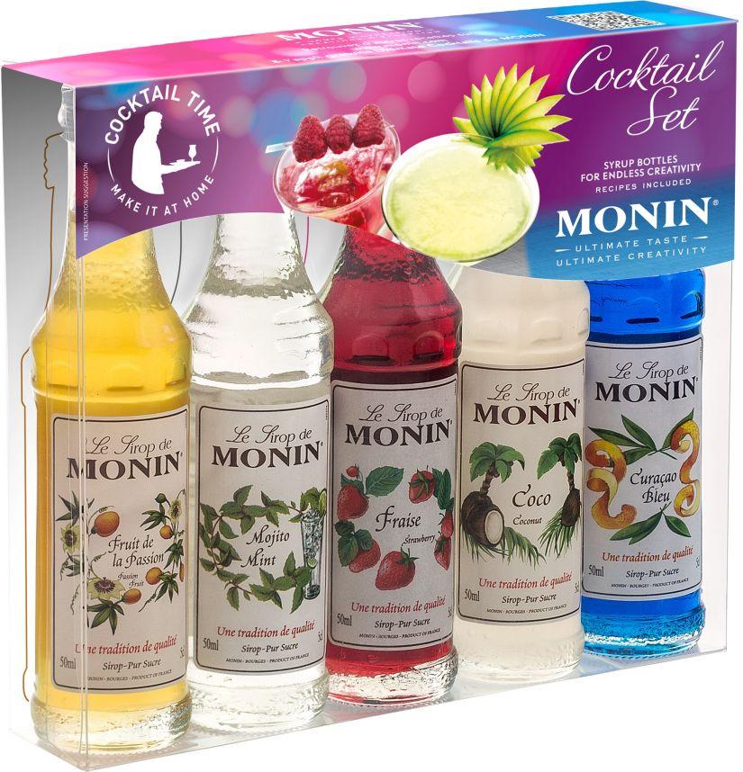 Monin Cocktail Set 5 smaksirap