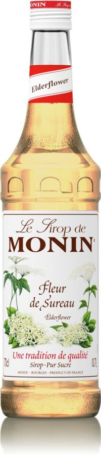 Monin Elder Flower smaksirap 700 ml