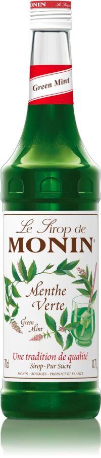 Monin Green Mint smaksirap 700 ml