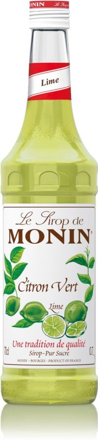 Monin Lime smaksirap 700 ml