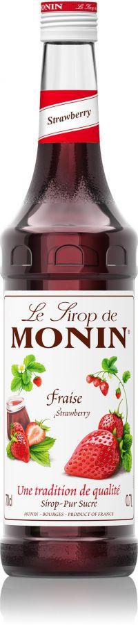 Monin Strawberry smaksirap 700 ml