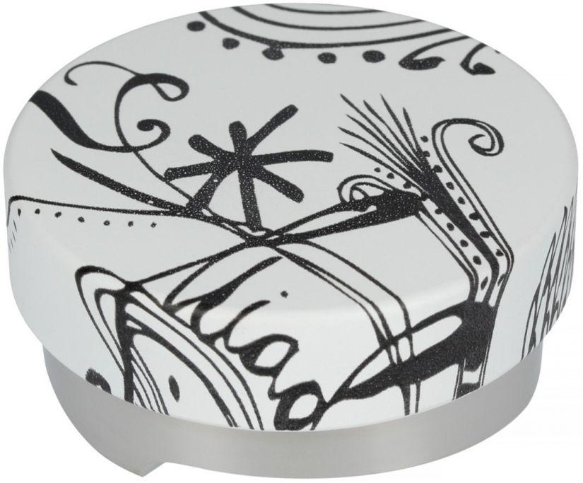 Motta Leveling Tool Black & White kaffeutjämnare, 58 mm