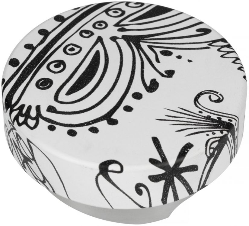 Motta Leveling Tool Black & White kaffeutjämnare, 53 mm