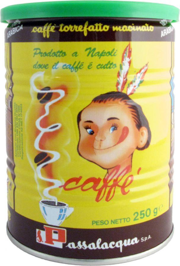 Passalacqua Mexico 250 g malet kaffe - burk