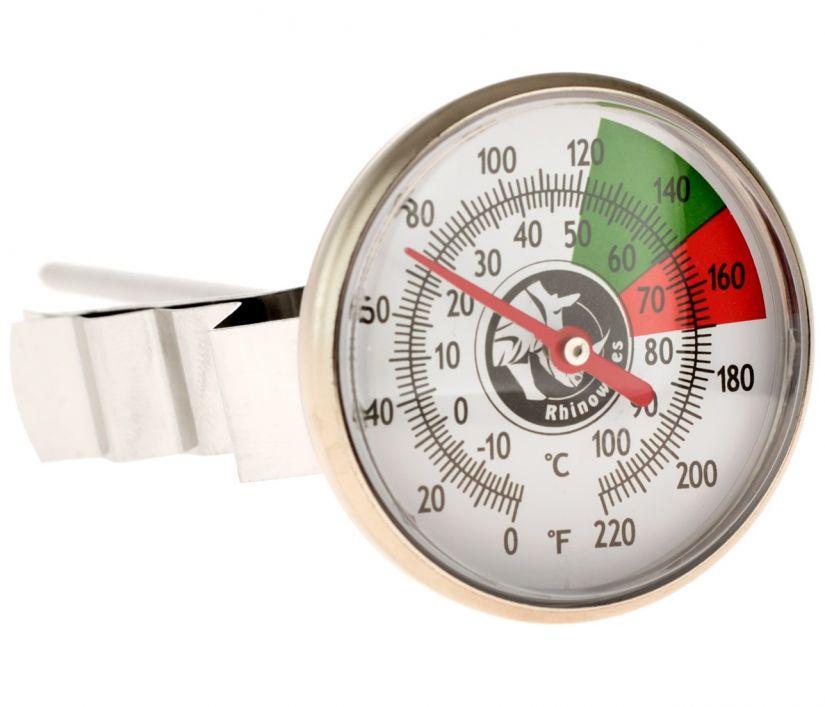Rhinowares Short Thermometer mjölktermometer 13 cm