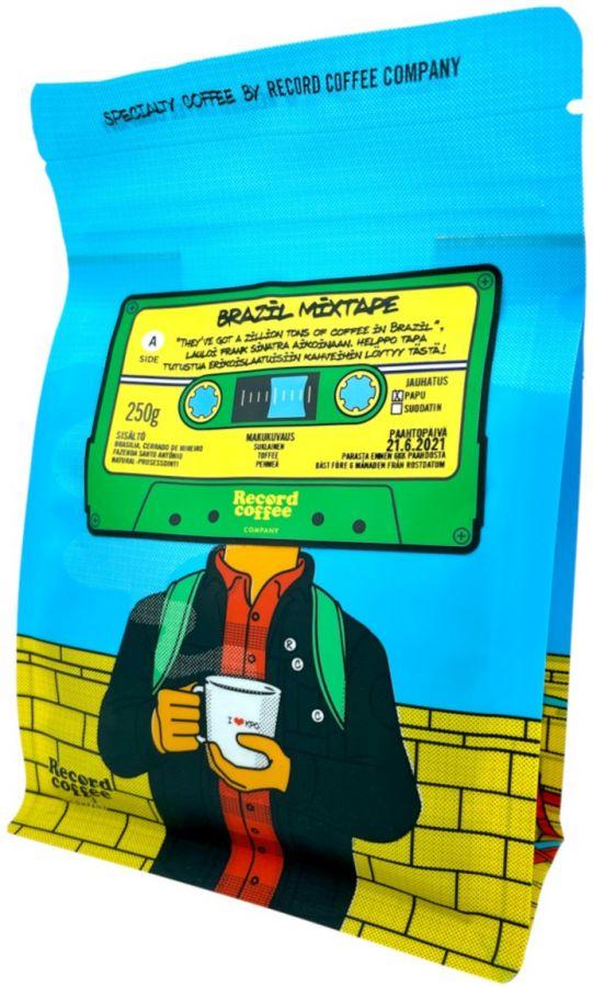 Record Coffee Company Brazil Mixtape 250 g kaffebönor