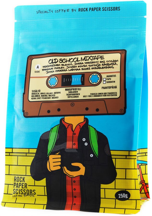 Record Coffee Company Old School Mixtape 250 g kaffebönor