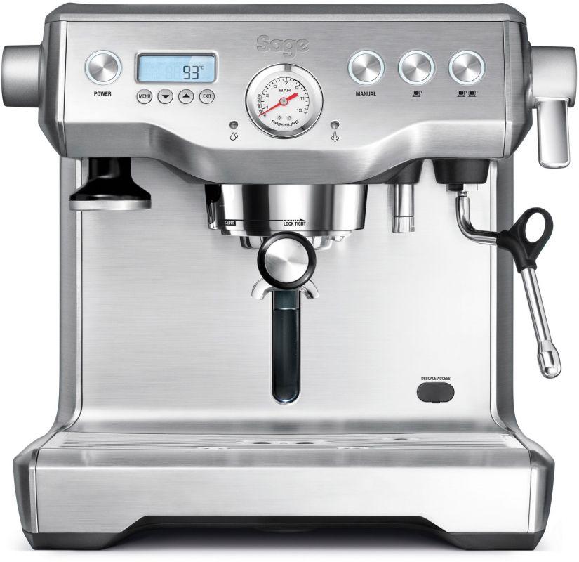 Sage the Dual Boiler espressomaskin, silver