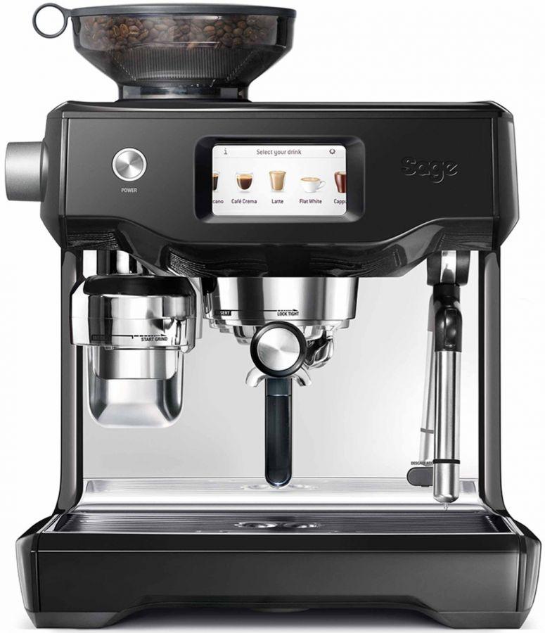 Sage The Oracle Touch espressomaskin, svart