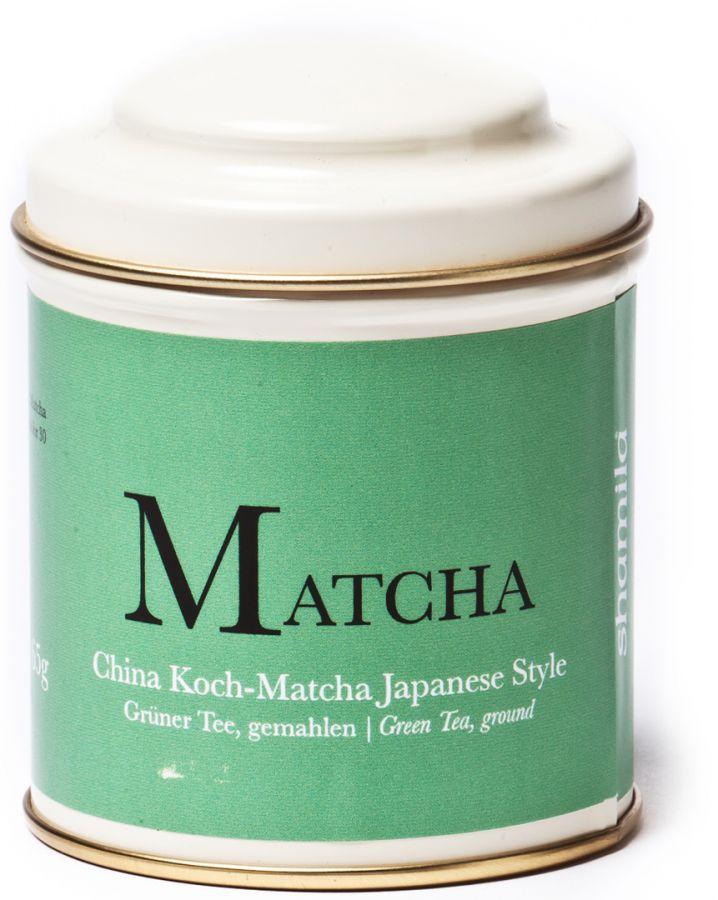 Shamila Kinesisk matcha i japansk stil 65 g burk