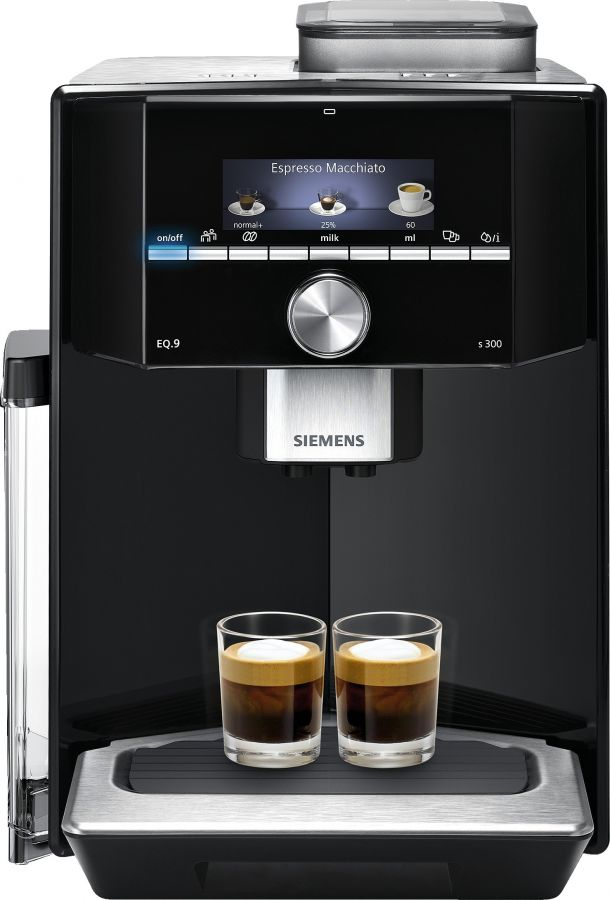 Siemens EQ.9 Series 300 -kaffeautomat, svart