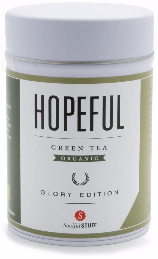 Soulful Stuff Hopeful grönt te, burk 100 g