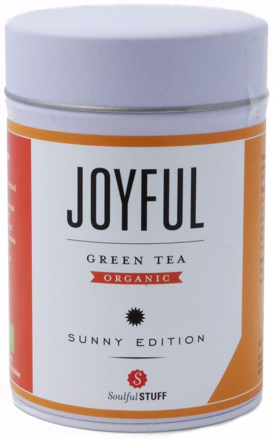 Soulful Stuff Joyful grönt te, burk 100 g