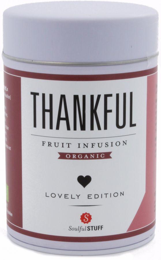 Soulful Stuff Thankful fruktinfusion, burk 130 g
