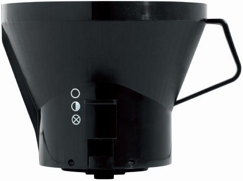 Moccamaster filterhållare till KB-seriens kaffebryggare, svart