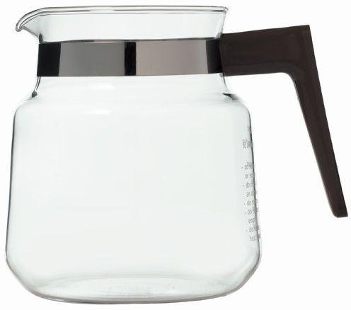 Moccamaster glaskanna för K-seriens kokare, svart