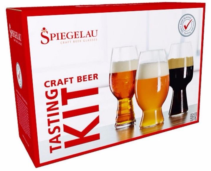 Spiegelau Craft Beer Tasting Kit: IPA, American Wheat Beer och Stout
