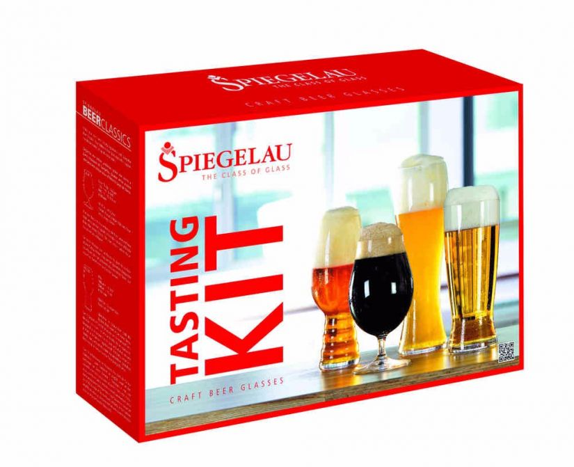 Spiegelau Beer Tasting Kit: IPA, Tulip, Hefeweizen och Lager