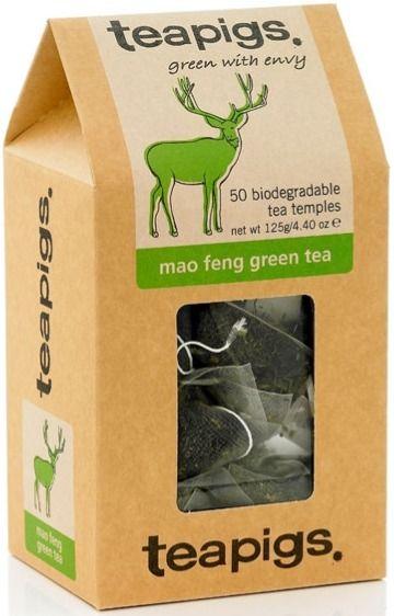 Teapigs Mao Feng Green Tea 50 tepåsar