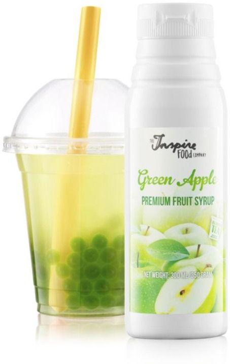 TIFC  Bubble Tea Syrup Green Apple 300 ml