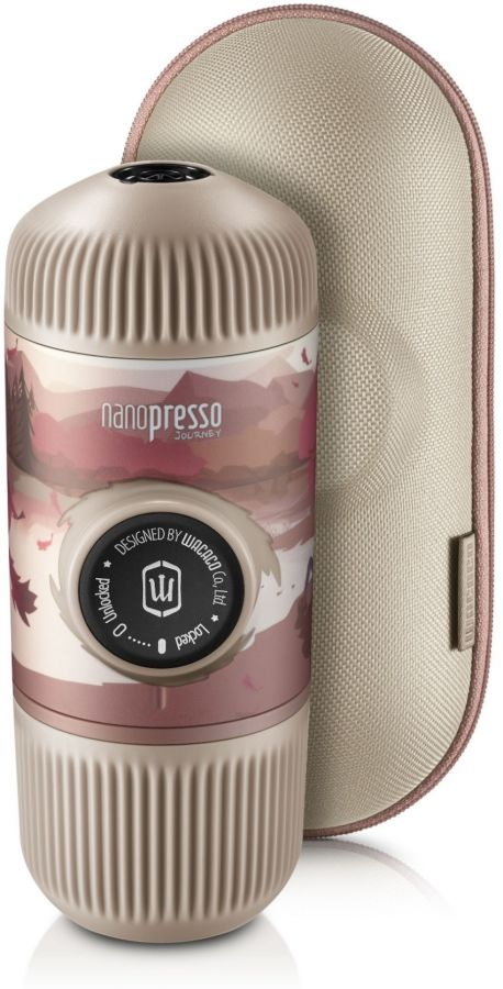 Wacaco Nanopresso Journey Fall Break - bärbar espressobryggare + skyddsfodral