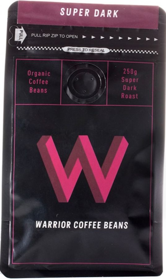 Warrior Coffee Super Dark 250 g kaffebönor