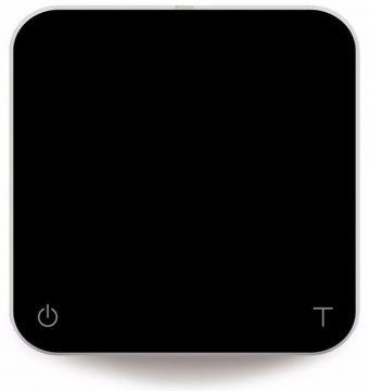 Acaia Pearl Black kaffevåg, svart