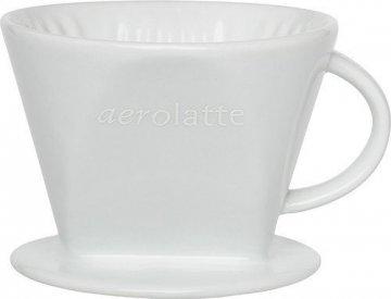 Aerolatte filterhållare i porslin Nr 2