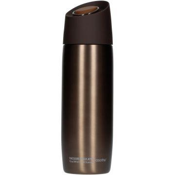 Asobu 5th Avenue Coffee Tumbler termosmugg 390 ml, brun