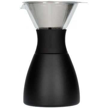 Asobu PourOver-PO300 Insulated Coffee Maker, svart/svart