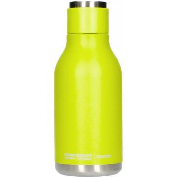 Asobu Urban Water Bottle dricksflaska i rostfritt stål 460 ml, lime