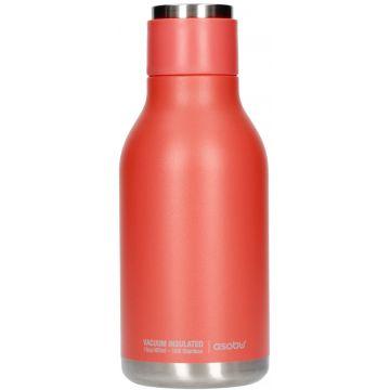 Asobu Urban Water Bottle dricksflaska i rostfritt stål 460 ml, peach