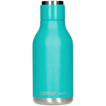Asobu Urban Water Bottle dricksflaska i rostfritt stål 460 ml, turkos