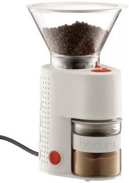 Bodum Bistro kaffekvarn vit