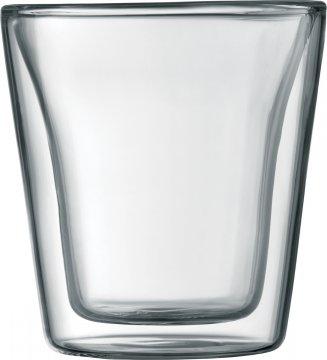Bodum Canteen dubbelväggade glas 100 ml, 2 st.