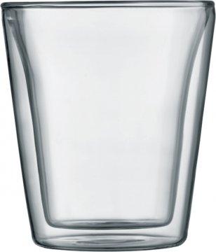 Bodum Canteen dubbelväggade glas 200 ml, 2 st.