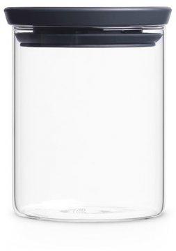 Brabantia glasburk med grått lock, 0,6 l