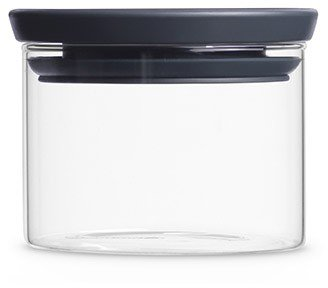 Brabantia glasburk med grått lock, 0,3 l