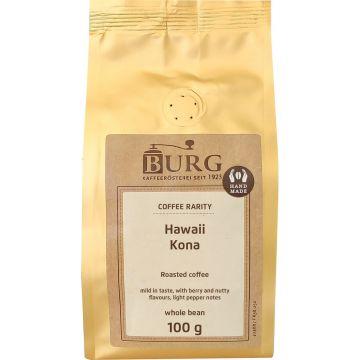 Burg Hawaii Kona 100 g kaffebönor