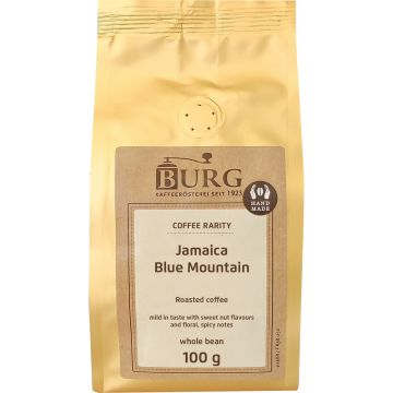 Burg Jamaica Blue Mountain 100 g kaffebönor