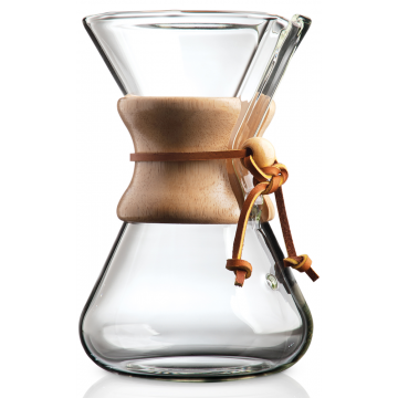 Chemex CM-2 kaffebryggare munblåst 5 koppar