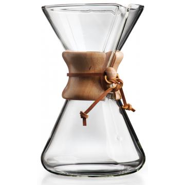 Chemex CM-3 kaffebryggare munblåst 8 koppar