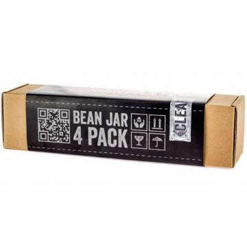 Comandante Bean Jar 4 Pack, ofärgat glas
