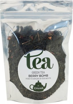 Crema Green Tea Berry Bomb 125 g