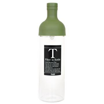 Hario Filter-in Bottle cold brew teflaska 750 ml, olivgrön