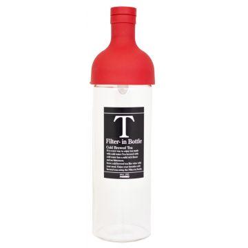 Hario Filter-in Bottle cold brew teflaska 750 ml, röd