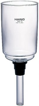 Hario övre reservglas för TCA-3 Syphon vakuumkaffebryggare