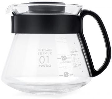 Hario V60 Range Microwave Server kaffekanna storlek 01, 260 ml
