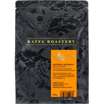 Kaffa Roastery Espresso Barabica 250 g kaffebönor